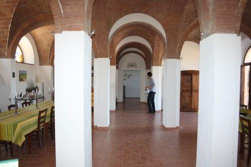 salle a manger toscane