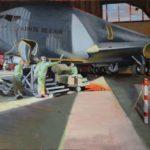 Maintenance du Boeing C135, Groupe de ravitaillement en vol 291 « Bretagne huile sur toile, 73x50 C ROCH