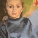 Marie - Huile sur toile - 80x60 C ROCH