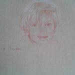 Victor, sanguine sur papier, 50x32,5