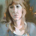 Anne-Laure, huile sur toile, 46x33 c roch