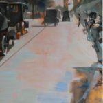Drôle de papillon, huile sur toile, 92x65 - Godefroy, 7 juin 1919 C ROCH