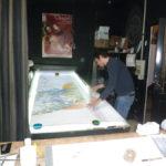 Travail à l'atelier c roch vitraux c