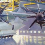 A400M à l'honneur, BA Orléans, huile sur toile, 55 × 38 C ROCH