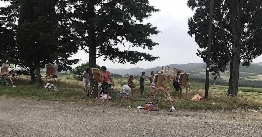 stage peinture toscane 2019