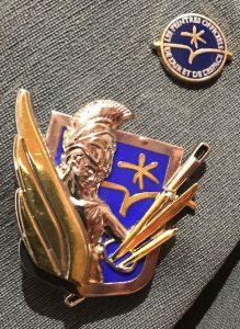 Nouvel insigne pour les Peintres Officiels de l'Air et de l'Espace