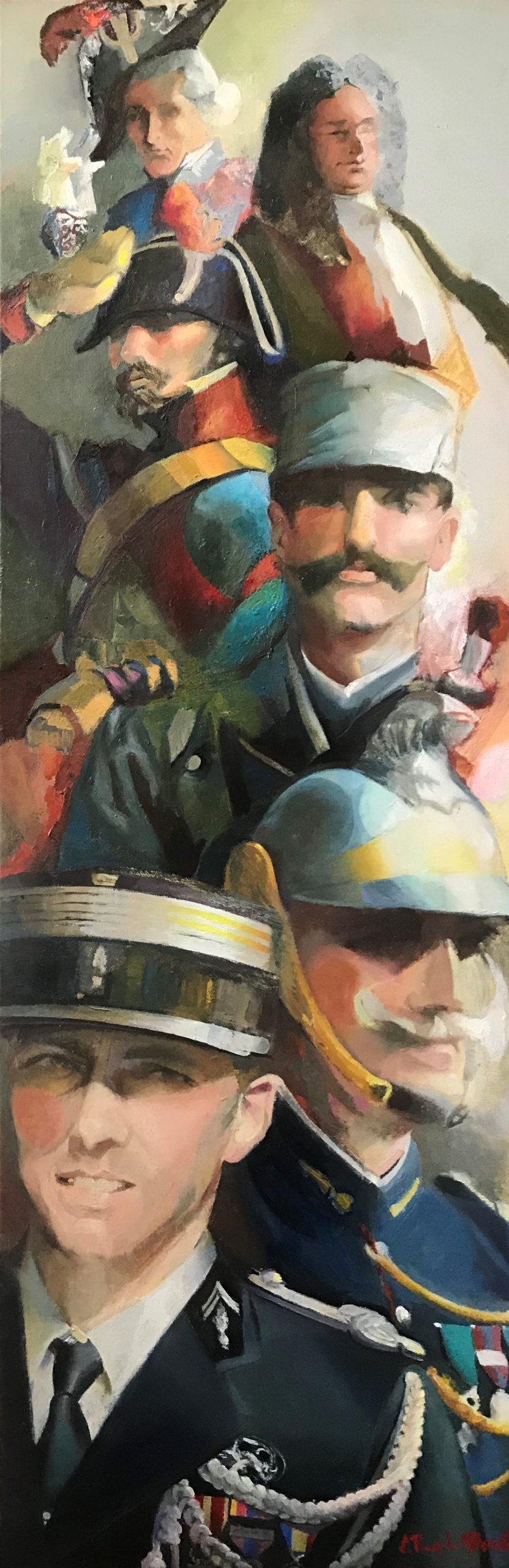 Les peintres de la gendarmerie s'exposent Issy-les-Mx/Musée de la gendarmerie nationale Melun/Colombey-les-deux-Eglises